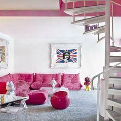 Salones blancos con pinceladas de color | Decoración Hogar, Ideas y Cosas Bonitas para Decorar el Hogar