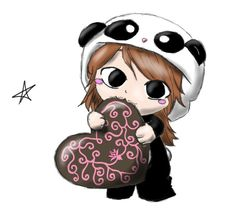 Cute Panda Chibi