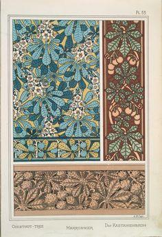 1896 - La plante et ses applications ornementales, by Eugene Grasset