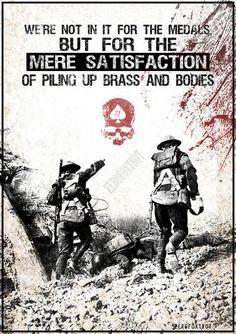 Blood and Glory Poster - ZERO FOXTROT Military Wife, Zero, Blood