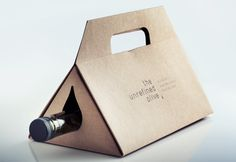 The Unrefined Olive - Gift box by Josée St-Pierre, via Behance
