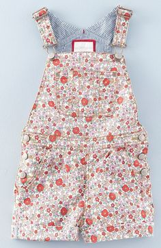 Mini Boden Short Overalls (Toddler Girls, Little Girls & Big Girls) available at #Nordstrom