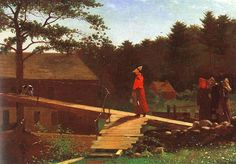 Winslow Homer was a remarkable landscape painter known for his delicate watercolor paintings and moody oil paintings. Learn about his life and art here. Happy Paintings, Seascape Paintings, Watercolor Paintings, Oil Paintings, Oil Painting For Beginners, Oil Painting Techniques, Famous Marines, Winslow Homer Paintings, Large Painting