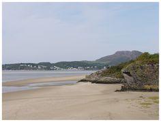 No 5 Best Welsh Beach, Wales on Line.  Barmouth Beach, Wales.  Dog beach reached via Sand Dune walk.