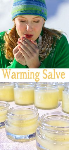 "Make Your Own ""Warming Salve"" For Cold Fingers and Toes! Plus, An Essential Oils Prize Package! 