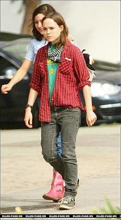 ellen page tomboy fashion