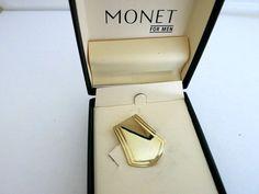 Money Clip Monet for Men Gold Tone by ediesbest on Etsy