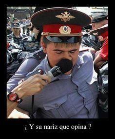 Y su nariz que opina ~ Carteles de Fotos - http://www.fotosbonitaseincreibles.com/y-su-nariz-que-opina-carteles-de-fotos/