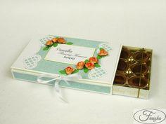 Kartka z czekoladą / Card with chockolate