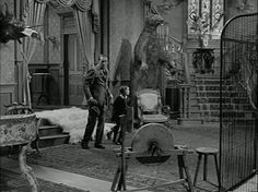Interior of the Addams Family's home
