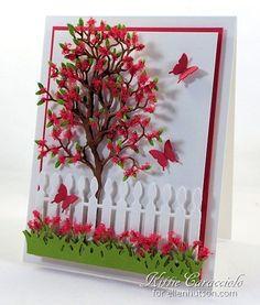 5/7/14.  KittieKraft:  Flower Soft Tree