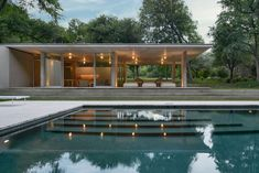 Something I came across on Zillow from Dallas, TX.    Architect: Philip Johnson  Built: 1964