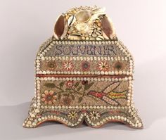 1056: Nine Victorian and Victorian-style Shell Encruste : Lot 1056