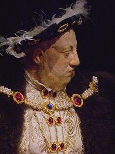 King Henry VIII historical portrait sculpture by artist-historian George Stuart