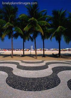 copacabana beach and boardwalk