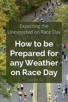 You never know what weather race day will bring. You need to be prepared for any eventuality. On the blog: How to be ready for whatever weather conditions race day may bring. Half Marathon Tips, Half Marathon Motivation, Half Marathon Training Plan, Running Motivation, Running Plan, Running Tips, City Marathon, Running Inspiration, Training Day