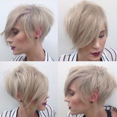 """8,431 Likes, 54 Comments - Short Hairstyles Pixie Cut (@nothingbutpixies) on Instagram: """"Double shout out to @aloveshair for another great look! """""""