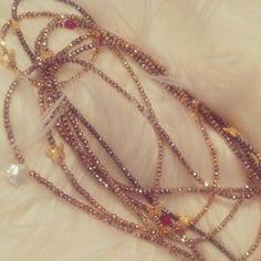 Loving gold rose and gold pyrite LindseyMarie Virtue necklace-bracelets right now! Rose Gold, Bracelets, Jewelry, Jewlery, Bijoux, Schmuck, Jewerly, Bracelet, Jewels