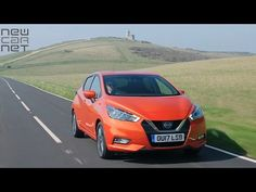 NEWCARNET - The all-new Nissan Micra goes on sale this week, priced at just under OTR. The fifth-generation supermini is available with two petrol engin. New Nissan Micra, Fifth Generation, Car Videos, Showroom, Fashion Showroom