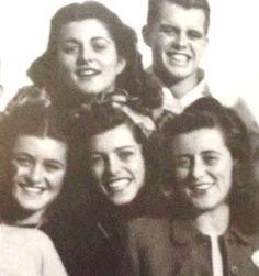 Jean, Pat, Eunice, Bobby and Kathleen Kennedy
