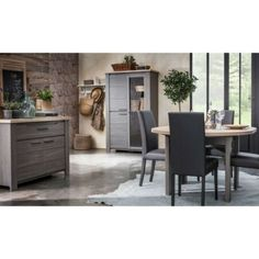 New Salle ?ne Gris C? - POMPEI - L 120 / 150 x l 120 x H 79 Dining Furniture Sets. offers on top store Dining Furniture Sets, Living Room Furniture, Outdoor Furniture Sets, Outdoor Decor, Extendable Dining Table, Dining Bench, Stores, Home Decor, Top