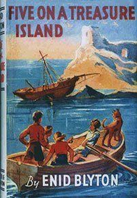 I loved all Enid Blyton books when I was a child, She was probably my favourite author when I was around 7 years old. The Famous Five were definitely one of my favourites, especially the books with the classic, original illustrations. Famous Five Books, The Famous Five, Vintage Book Covers, Vintage Children's Books, Enid Blyton Books, Comics Vintage, Ladybird Books, Film Base, Classic Books