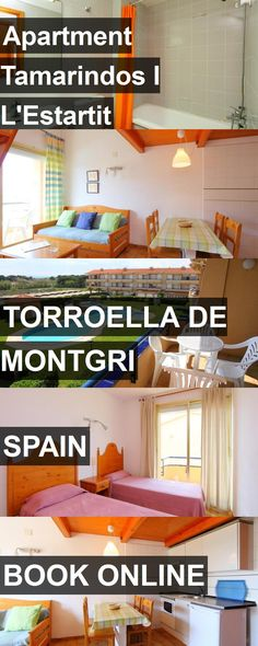 Hotel Apartment Tamarindos I L'Estartit in Torroella de Montgri, Spain. For more information, photos, reviews and best prices please follow the link. #Spain #TorroelladeMontgri #hotel #travel #vacation