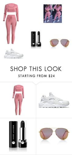 """My outfit"" by dearra05 ❤ liked on Polyvore featuring NIKE, Marc Jacobs and Victoria, Victoria Beckham"