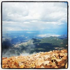 In the cloud at Pike's Peak