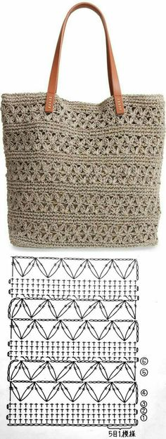 Crochet handbags 624241198338488036 - Bolsa de crochê Summer Bag ⋆ De Frente Para O Mar, Source by acapgui Crochet Tote, Crochet Handbags, Crochet Purses, Crochet Crafts, Crochet Stitches, Crochet Projects, Crochet Patterns, Knitting Patterns, Crochet Diagram