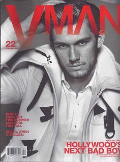 Alex Pettyfer in V Man magazine