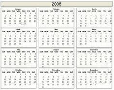 Download  Printable Calendars  Printable Calendars