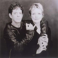 Beautiful print of Lou Reed and Laurie Anderson