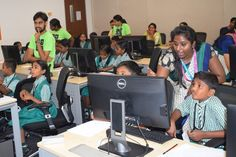 Hour of Code for students of Building Blocks India