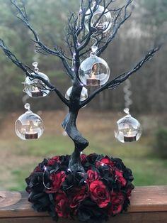 Wedding Table, Diy Wedding, Fall Wedding, Dream Wedding, Wedding Blog, Wedding Beauty, Goth Wedding Ring, Rustic Wedding, Wiccan Wedding