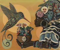 FEATURE: Sci-fi meets Folklore - The work of visual artist Paul Lewin (Paul Lewin Art) —> http://www.afropunk.com/profiles/blogs/feature-sci-fi-meets-folklore-the-work-of-visual-artist-paul