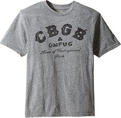 The Original Retro Brand Kids Boys CBGB Short Sleeve TriBlend Tee Big Kids Streaky Grey TShirt -- To view further for this item, visit the image link.Note:It is affiliate link to Amazon.