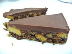 Sanna's Kitchen - Chocolate Tiffin recipe I use digestives,double choc digestives, Oreo and kitkat chunky. Add a dollop of peanut butter to the butter mix and add a big bag of maltesers in the final mix, Cadbury choc to top and decorate with maltesers...naughty!
