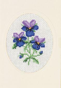 Good Life 2 Go: Permin free cross stitch chart: Viola