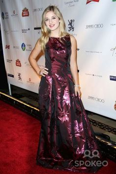 """Jackie Evancho attends the Global Lyme Alliance """"Uniting For a Lyme Free World"""" Gala Cipriani Street, NYC October 2015 Photos by Sonia Moskowitz, Globe Photos Inc Jackie Evancho, October 8, 42nd Street, Globe, Photo Galleries, Burgundy, Nyc, Gowns, Formal Dresses"""