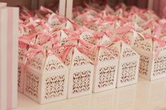 Featuring Laser Cut Favour Boxes Filigree White | Image - Fallen Lupe Photography
