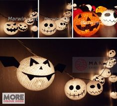 Dracula Devil Ghost String Lights Cotton Balls Fairy Lights Bedroom Home Decor Living Room Wall Hanging Lights Backdrop Decor Dorm Lights Wall Hanging Lights, String Lights, Iq Puzzle, Circus Birthday, Birthday Ideas, Halloween Diy, Happy Halloween, Pumpkin Crafts, Paper Stars