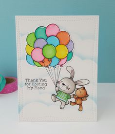 "Hello crafty friends!!! Today I'm sharing a card I made using the MFT ""Snuggle Buddies"". This stamp set really tugs at my heart. I love the images and the sentiment that are in…"