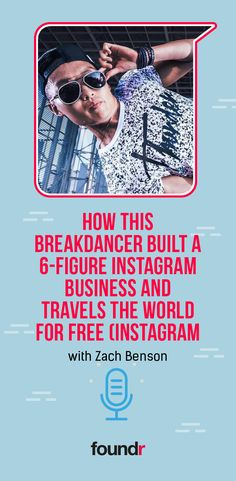 Discover how Instagram Domination student Zach Benson turned his travel passion into a six-figure social media business and enjoys free exotic travel around the world. Click to hear his Foundr story. Promote Your Business, Starting A Business, Foundr Magazine, Dance Careers, Travel The World For Free, Business Coaching, Free Instagram, Career Goals, Successful People