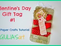 """In this tutorial you will learn how to make very simple gift tag in just few steps. <br /><br />I hope that you will enjoy this craft and if so, please don't forget to Share, Comment, Like & Subscribe.<br /><br />★ ★ ★ ★ ★ ★ ★ ★ ★ ★ ★ ★ ★ ★ ★ ★ ★ ★ ★ ★ ★ ★<br /><br />Visit our Youtube channel for more crafts and inspiration:<br /><a href=""""https://www.youtube.com/c/giuliasart"""" target=""""_blank"""" rel=""""nofollow"""">https://www.youtube.com/c/giuliasart</a><br /><br />On this Channel, We show you how…"""