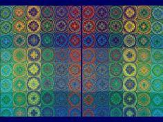 Multi colour double weaves on 8 shafts | Weefschool de Hoeve