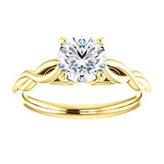 Infinity-Inspired Solitaire Engagement Ring EMILY | 122705
