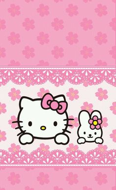 Image via We Heart It https://weheartit.com/entry/145202286/via/22479432 #cute #hellokitty #pink #wallpaper