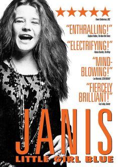 Janis Joplin & Cat Power & Amy J. Berg-Janis Joplin - Janis Little Girl Blue Janis Joplin, Music Documentaries, Triangle Art, Kris Kristofferson, Legendary Singers, Blue Poster, Documentary Film, Her Music, Rock Music