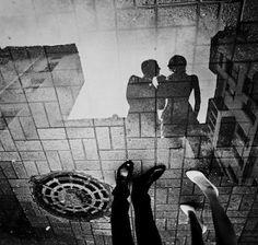 Puddle of Romance/Source: Google image Fine Art Photography, Street Photography, Wedding Photography, Photography Ideas, Reflection Photography, Urban Photography, Engagement Photography, Amazing Photography, Engagement Photos